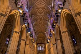 National Cathedral Interior Wallpaper Building Interior Symmetry Sony Church Cathedral