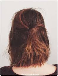 medium length hair styles shorter in he back longer in the front 41 diy cool easy hairstyles that real people can actually do at home