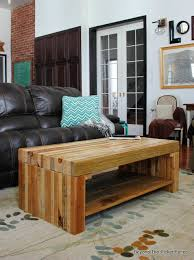 Building Reclaimed Wood Coffee Table by Beyond The Picket Fence Building Lessons Pallet Coffee Table