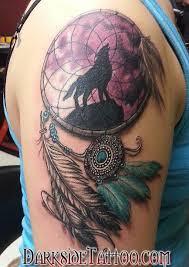tattoo pictures color darkside tattoo tattoos color color dreamcatcher tattoo