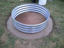 Firepit Rings Awesome Galvanized Pit Ring Pit Pit Grill Ideas