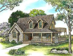 Cottage Home Floor Plans by 86 Best Wraparound Porch House Plans Images On Pinterest House