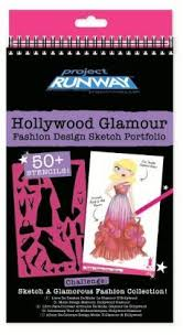 project runway fashion design sketch book fashion angels toys