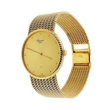 bracelet gold watches images Chopard yellow and white gold bracelet quartz wristwatch for sale jpeg