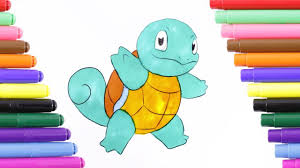 pokemon squirtle coloring pages pokemon squirtle coloring page for kids coloring book youtube