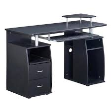 techni mobili atua wood computer desk in espresso rta 8211 es18