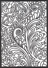 paisley designs stained glass coloring book creative 051070