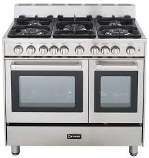 32 Inch Gas Cooktop 6 Burner Gas Range At Us Appliance