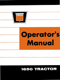 oliver manuals oliver tractor manuals oliver baler manuals