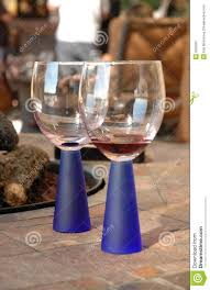 Modern Wine Glasses by Modern Wine Glasses Royalty Free Stock Photography Image 3283367