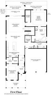 floor plans drawing lakeshore executive collection the gardenia home design