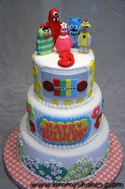 yo gabba gabba cake design by nicola summerville food u0026 drink
