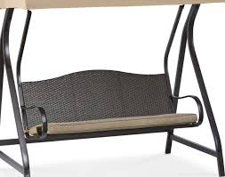 Glider Patio Furniture Bench Patio Swings With Canopy Walmart Wonderful Porch Bench