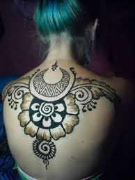 henna tattoo on back by norlyola on deviantart