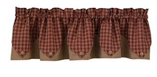 country style curtains amazon com