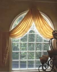 Palladium Windows Ideas Arched Window Treatments I Like This But Will Block Chandelier