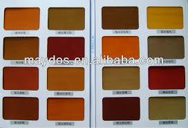 maydos wood colors for pu or nc wood paint oak mahogany colors