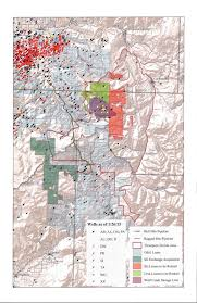 Co Surface Management Status Canon City Map Bureau Of Land by Blm Map Of Roaring Springs Land Exchange Tidal Treasures