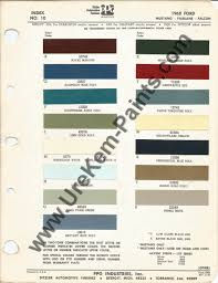 1968 ford mustang car paint colors urekem paints