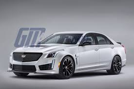 white cadillac cts black rims how about a cadillac cts v black out package gm authority