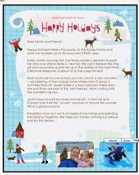 christmas letter examples kinsurf co