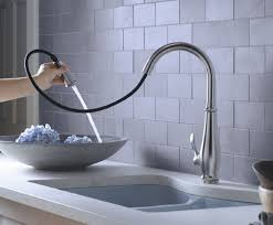 kitchen kohler kitchen faucet in astonishing kohler bellera pull