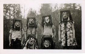 vintage masks project b vintage photography photo based curated