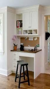 Small Desk For Kitchen Built In Desk Office Nook And Kitchen Desks Kitchen Pantry
