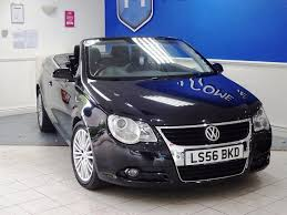 volkswagen convertible eos used used volkswagen eos convertible 2 0 tdi sport cabriolet 2dr in