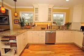 Open Floor Plan Kitchen Family Room by Cottage Inspired Home Remodel Case Design Remodeling Birmingham