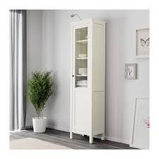 ikea hemnes glass door cabinet hemnes cabinet with panel glass door white stain white stain