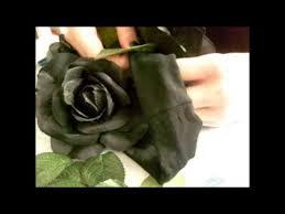 Black Rose Flower Diy Black Roses Flower Crown Youtube