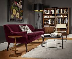 Color Sofa Best 25 Burgundy Couch Ideas On Pinterest Navy Blue Living Room