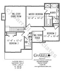 House Plans Traditional Bridgewater House Plan House Plans By Garrell Associates Inc