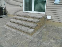 Patio Pavers Ideas by Patio Paver Ideas Stairs U2014 All Home Design Ideas Popular Patio
