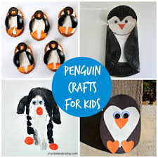 free craft activities for kids penguins in warrington