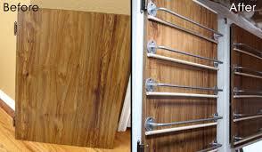 Cabinet Door Organizer Organize Craft Paint On A Cabinet Door 100 Directions