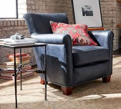 Pottery Barn Teen Couch Irving Leather Armchair Pottery Barn