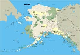Alaska Map by Large National Parks Map Of Alaska State Alaska State Large