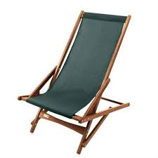 Patio Folding Chair 38 Wooden And Fabric Outdoor Patio Garden Folding