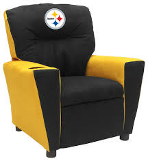 Youth Recliner Chairs Pittsburgh Steelers Fan Favorite Recliner Traditional Youth