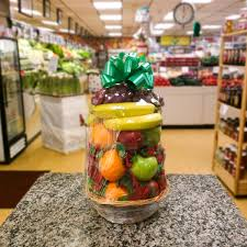 gourmet basket fruit gourmet basket a better bloom florist