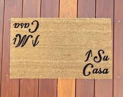 doormat funny mi casa su casa door mat doormat funny grumpy doormat roots