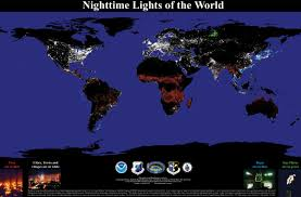 lights of the world address mapping the world at night gis lounge