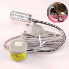 led gooseneck machine light led gooseneck l sewing machine light table l magnetic mounting