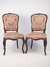 Old Fashioned Bedroom Chairs by Rosewood Dining Chairs Antique Furniture Ebay