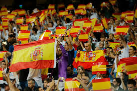 The Spain Flag Catalonia U0027s Independence Vote Descends Into Chaos And Clashes