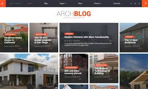 architecture blog design trends for featured post sections in blog magazine