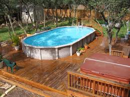 Oval Ground Pools Packages Best Oval above Ground Pools