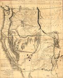 State Map Of Oregon by History Of Oregon